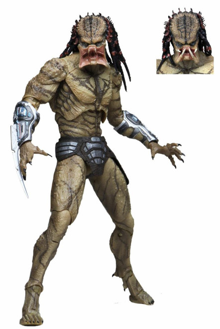 NECA Predator 2018 Assassin Predator Deluxe Action Figure [Ultimate Version, Unarmored] (Pre-Order ships June)