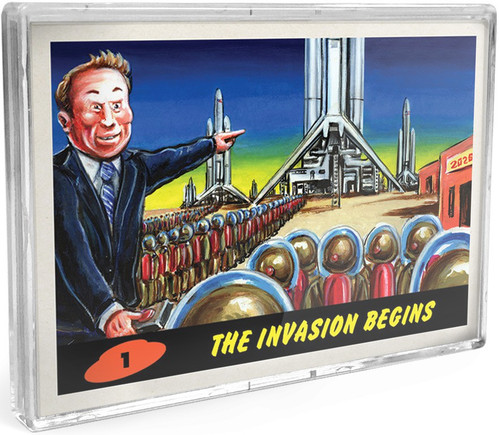Mars Attacks Topps 2021 Invasion 2026 Trading Card Set [10 Cards]