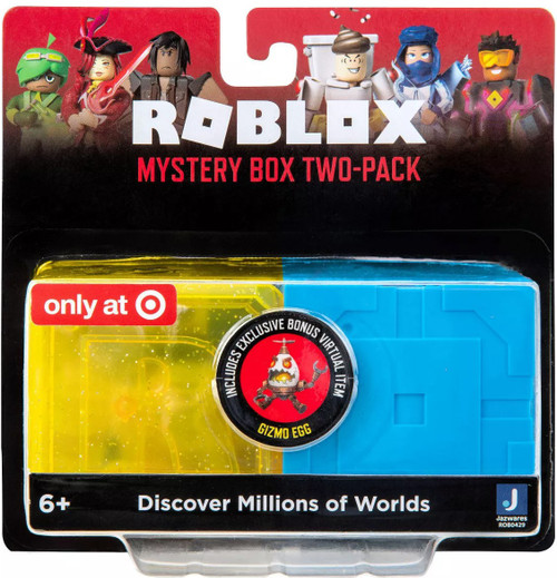 Roblox Series 9 & Celebrity Series 7 Exclusive Mystery 2-Pack Easter Set [Bonus Gizmo Egg Virtual Item Code Included!]