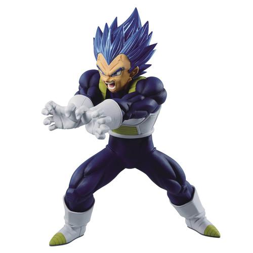 Dragon Ball Super Maximatic Super Siayan Blue Vegeta 8-Inch Collectible PVC Figure (Pre-Order ships October)