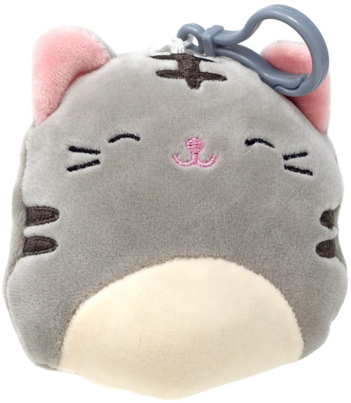 Squishmallows Tally the Cat 4-Inch Plush Hanger