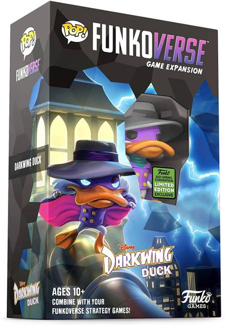 Disney POP! Funkoverse Darkwing Duck Exclusive Strategy Board Game Expansion