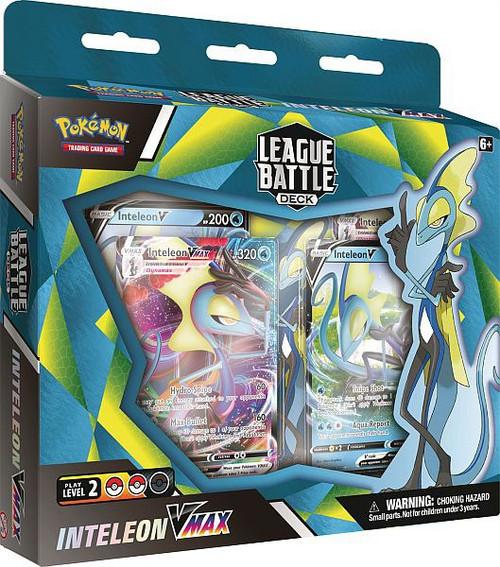 Pokemon Trading Card Game Sword & Shield Inteleon VMAX League Battle Deck [60-Card Deck, Deck Box & More]