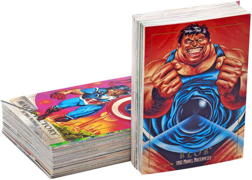 1992 Marvel Masterpieces Trading Card Set [100 Cards]