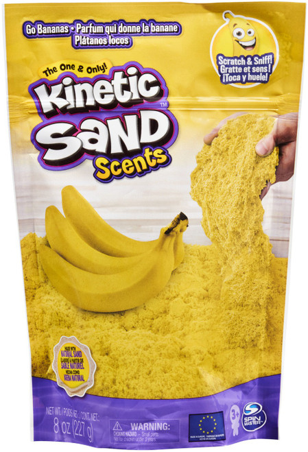 Kinetic Sand Scents Go Bananas 8 Ounce Pack [Yellow]
