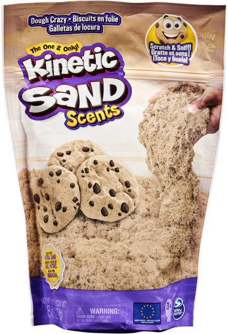 Kinetic Sand Scents Dough Crazy 8 Ounce Pack