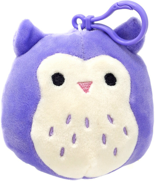 Squishmallows Holly the Owl 4-Inch Plush Hanger