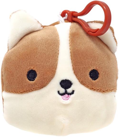 Squishmallows Reginald the Dog 4-Inch Plush Hanger