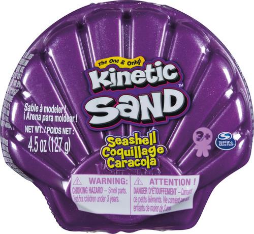 Kinetic Sand Seashell PURPLE 4.5 Ounce Pack