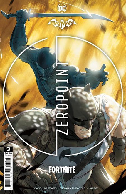 DC Comics Batman / Fortnite Zero Point #3 Main Cover (Mikel Janin) Comic Book [Comes with Online Game Digital Item Code to Unlock Catwoman's Claw Pickaxe!] (Pre-Order ships May)