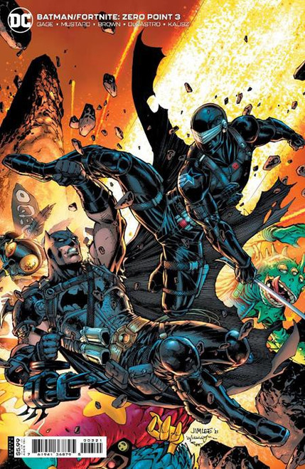 DC Comics Batman / Fortnite Zero Point #3 Card Stock Variant (Jim Lee & Scott Williams) Comic Book [Comes with Online Game Digital Item Code to Unlock Catwoman's Claw Pickaxe!] (Pre-Order ships May)
