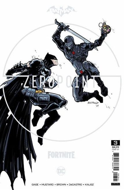 DC Comics Batman / Fortnite Zero Point #3 Premium Variant C Cover (Donald Mustard) Comic Book [Comes with Online Game Digital Item Code to Unlock Catwoman's Claw Pickaxe!] (Pre-Order ships May)