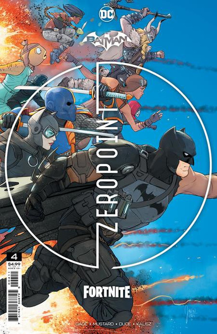 DC Comics Batman / Fortnite Zero Point #4 Main Cover (Mikel Janin) Comic Book [Comes with Online Game Digital Item Code to Unlock the Deathstroke Destroyer Glider!] (Pre-Order ships June)