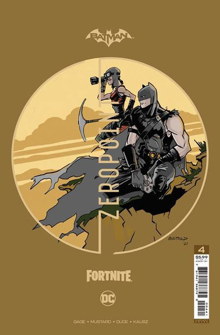 DC Comics Batman / Fortnite Zero Point #4 Premium Variant D Cover (Donald Mustard) Comic Book [Comes with DC Themed Digital Item Code for Fortnite Game!] (Pre-Order ships June)