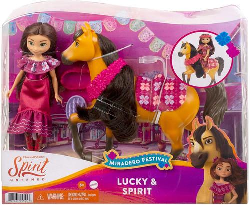Spirit Untamed Miradero Festival Lucky & Spirit Figure Set