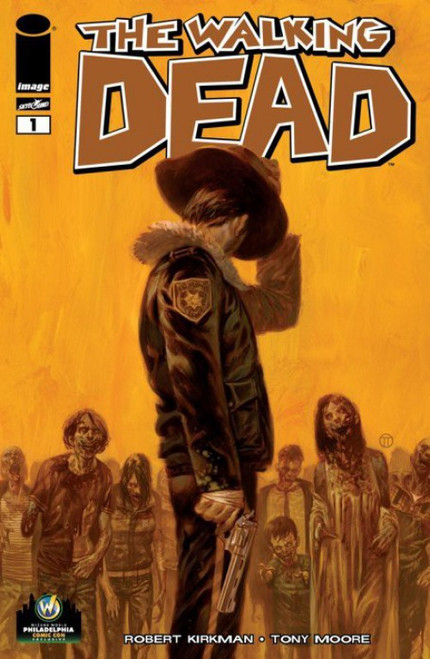 Image Comics The Walking Dead #1 Comic Book [Wizard World Philly Variant Cover]