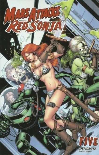 Dynamite Entertainment Mars Attacks Red Sonja #5C Comic Book