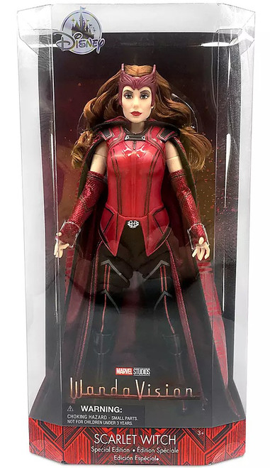 Disney Marvel Wandavision Scarlet Witch Exclusive 10.5-Inch Action Doll [Special Edition]