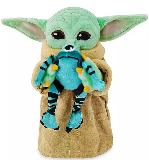 Disney Star Wars The Mandalorian The Child with Frog in Mouth Exclusive 7.5-Inch Mini Bean Bag Plush [Baby Yoda / Grogu]