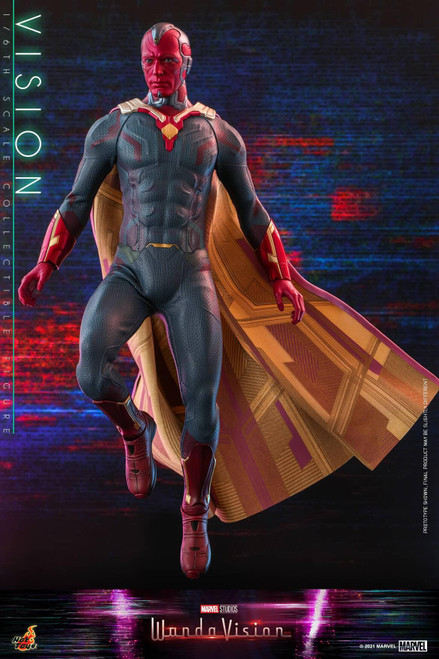 Marvel WandaVision Movie Masterpiece Vision Collectible Figure (Pre-Order ships October 2022)