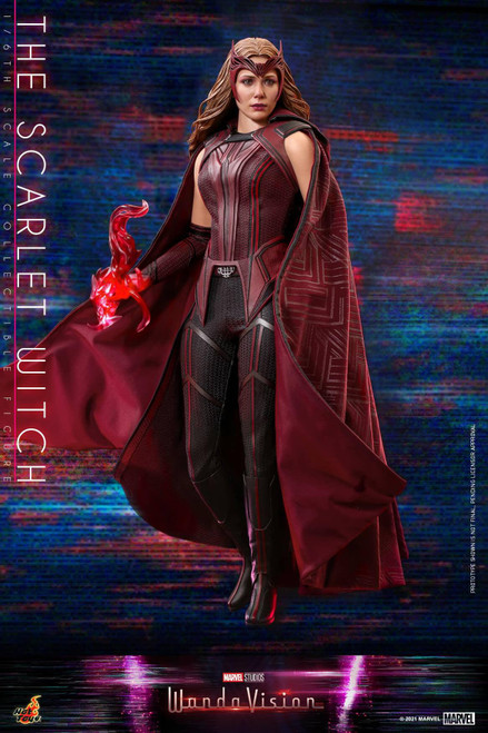 Marvel WandaVision Movie Masterpiece Scarlet Witch Collectible Figure (Pre-Order ships October 2022)