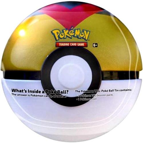 Pokemon Trading Card Game 2021 Level Ball Pokeball Tin Set [3 Booster Packs & Coin]