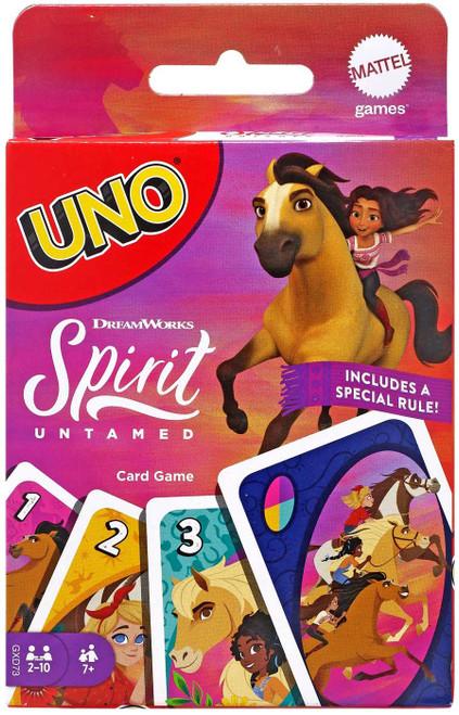 Spirit Untamed UNO Card Game