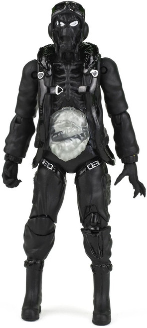 FigBiz Heavy Metal Nelson, B-17 Tailgunner Exclusive Action Figure [Black Metal, Limited Edition of 250]