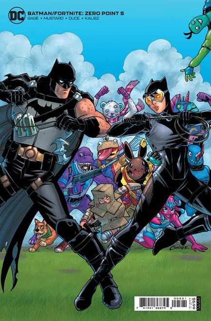 DC Comics Batman / Fortnite Zero Point #5 Card Stock Variant (Amanda Conner) Comic Book [Comes with DC Themed Digital Item Code for Fortnite Game!] (Pre-Order ships June)