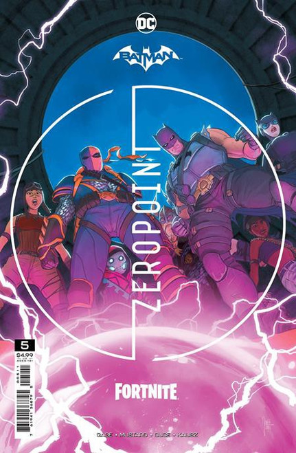 DC Comics Batman / Fortnite Zero Point #5 Main Cover (Mikel Janin) Comic Book [Comes with Online Game Digital Item Code to Unlock Harley Quinn's Revenge Back Bling!] (Pre-Order ships June)