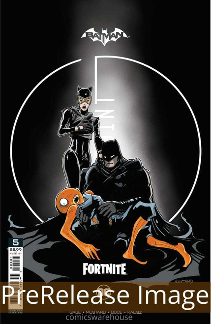DC Comics Batman / Fortnite Zero Point #5 Premium Variant E Cover (Donald Mustard) Comic Book [Comes with DC Themed Digital Item Code for Fortnite Game!] (Pre-Order ships June)