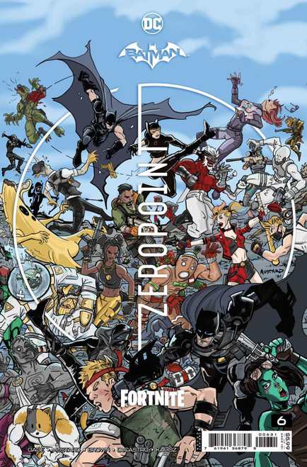 DC Comics Batman / Fortnite Zero Point #6 Premium Variant F Cover (Donald Mustard) Comic Book [Comes with Online Game Digital Item Code to Unlock the Batarang Axe Pickaxe!]