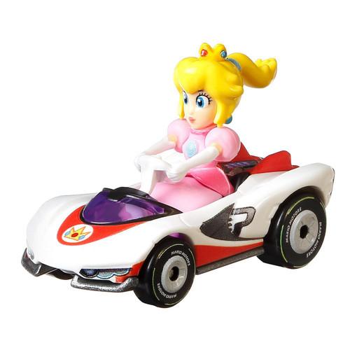 Hot Wheels Mario Kart P-Wing Princess Peach Diecast Car [Loose]