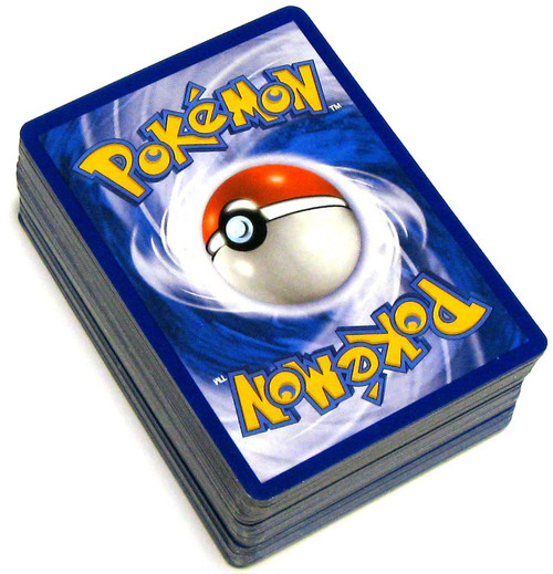 Pokemon Trading Card Game Assorted Series LOT of 50 Single Cards