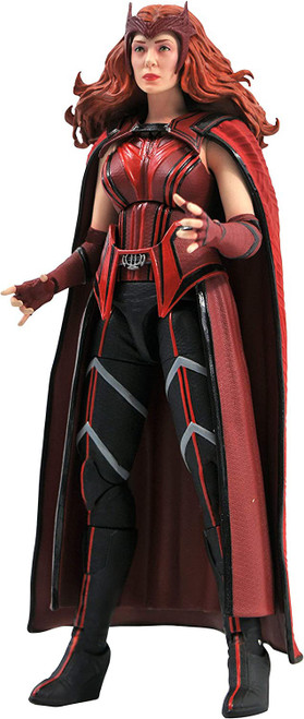 Wandavision Marvel Select Scarlet Witch Action Figure [Wandavision] (Pre-Order ships October)