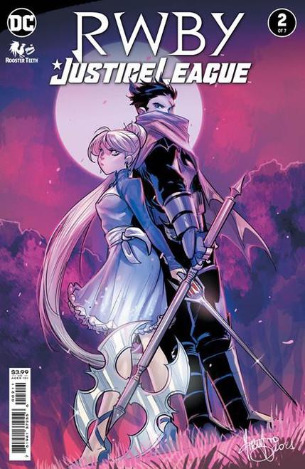 DC RWBY Justice League #2 Comic Book