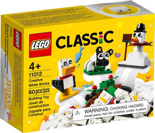 LEGO Classic Creative White Bricks Set #11012