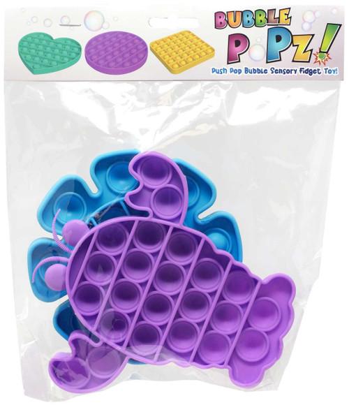 Bubble Popz Fidget Toy 2-Pack [2 RANDOM Shapes & Colors]