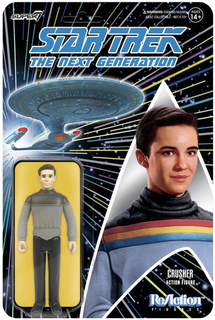 ReAction Star Trek Wave 1 Wesley Crusher Action Figure (Pre-Order ships June)