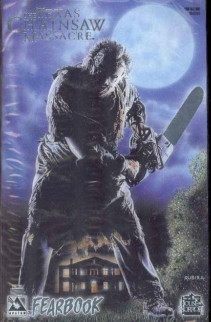 Avatar Texas Chainsaw Massacre #1 Fearbook Comic Book [Platinum Foil Edition]