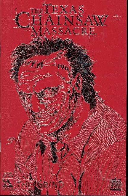 Avatar Texas Chainsaw Massacre #1 Grind Comic Book [Leather Cover]