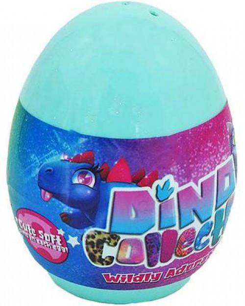 Dino Collecto! Wildy Adorable Plush Dino Egg 2.5-Inch Mystery Pack [1 RANDOM Figure] (Pre-Order ships September)