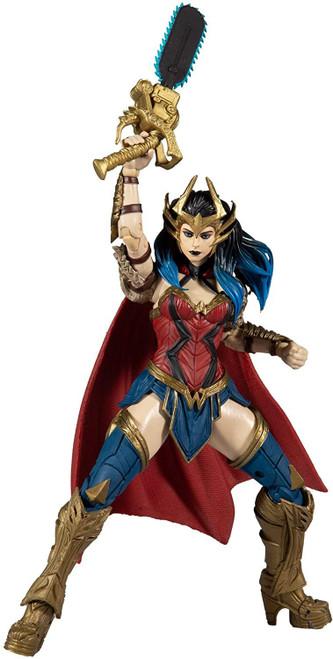 McFarlane Toys DC Multiverse Build Dark Father Series Wonder Woman Action Figure [Death Metal]