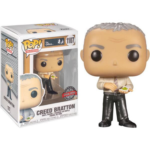 Funko The Office POP! TV Creed Exclusive Vinyl Figure #1107 [Mung Beans]