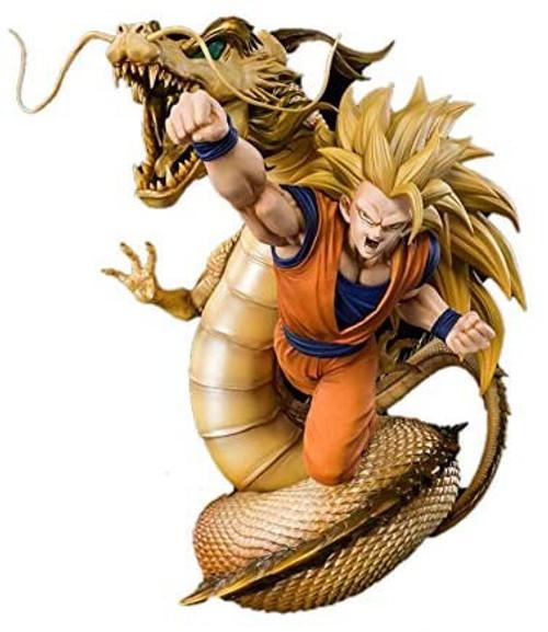 Dragon Ball Z Figuarts ZERO Super Saiyan 3 Son Goku 8.6-Inch Statue [Dragon Fist Explosion] (Pre-Order ships September)