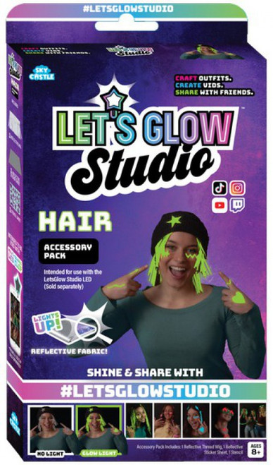 Let's Glow Studio Accessory Hair Craft kit (Pre-Order ships June)