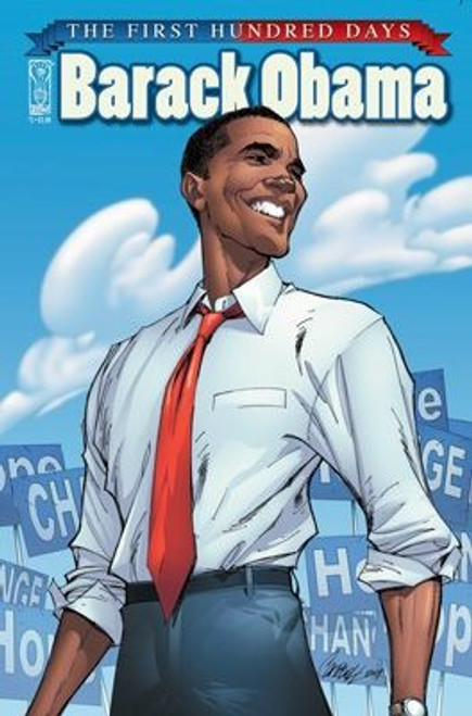 IDW Publishing Barack Obama #2 First 100 Days Comic Book