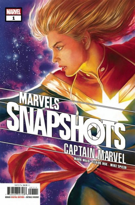 Marvels Snapshots: Captain Marvel #1A Comic Book