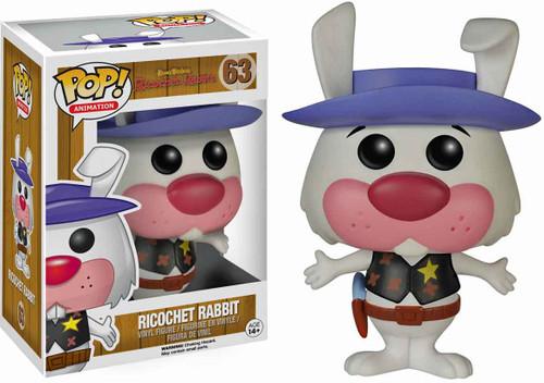 Funko Hanna-Barbera POP! TV Ricochet Rabbit Vinyl Figure #63 [Damaged Package]