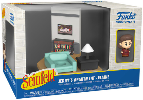 Funko Seinfeld Mini Moments Jerry's Apartment Elaine Diorama [Regular Version] (Pre-Order ships June)